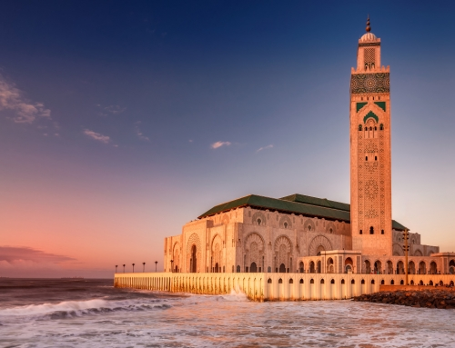 Visiting the Grand Mosque Hassan II in Casablanca